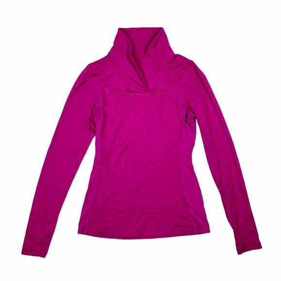 EUC Lululemon Run Brisk Long Sleeve/Pullover